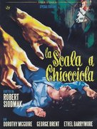 The Spiral Staircase - Italian DVD cover (xs thumbnail)