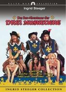 Die Sexabenteuer der drei Musketiere - Swiss DVD cover (xs thumbnail)