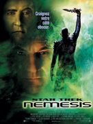 Star Trek: Nemesis - French Movie Poster (xs thumbnail)
