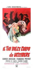 Il tuo dolce corpo da uccidere - Italian Movie Poster (xs thumbnail)