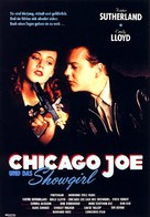 Chicago Joe and the Showgirl - German Movie Poster (xs thumbnail)