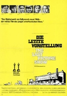 The Last Picture Show - German Movie Poster (xs thumbnail)
