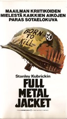 Full Metal Jacket - Finnish Movie Poster (xs thumbnail)