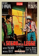 The Tin Star - Italian Movie Poster (xs thumbnail)