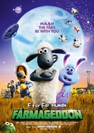A Shaun the Sheep Movie: Farmageddon - Danish Movie Poster (xs thumbnail)