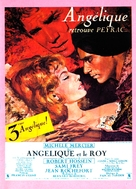 Angélique et le roy - French Movie Poster (xs thumbnail)