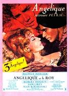 Angélique et le roy - French Movie Poster (xs thumbnail)