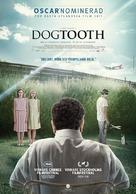 Kynodontas - Swedish Movie Poster (xs thumbnail)