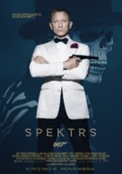Spectre - Latvian Movie Poster (xs thumbnail)