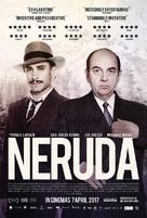 Neruda - British Movie Poster (xs thumbnail)