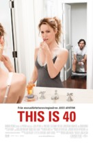 This Is 40 - Swedish Movie Poster (xs thumbnail)