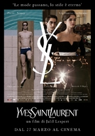 Yves Saint Laurent - Italian Movie Poster (xs thumbnail)