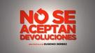 No se Aceptan Devoluciones - Mexican Logo (xs thumbnail)