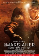 The Martian - German Movie Poster (xs thumbnail)