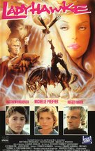 Ladyhawke - French VHS movie cover (xs thumbnail)