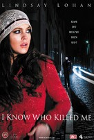 I Know Who Killed Me - Danish Movie Cover (xs thumbnail)