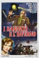 Embajadores en el infierno - Italian Movie Poster (xs thumbnail)