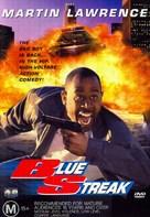 Blue Streak - Australian DVD cover (xs thumbnail)