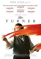 Mr. Turner - Finnish Movie Poster (xs thumbnail)