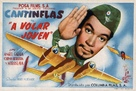 ¡A volar joven! - Spanish Movie Poster (xs thumbnail)