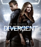Divergent - Blu-Ray cover (xs thumbnail)