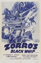 Zorro's Black Whip - Re-release poster (xs thumbnail)