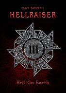 Hellraiser III: Hell on Earth - British Movie Cover (xs thumbnail)