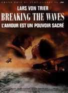 Breaking the Waves - French Movie Poster (xs thumbnail)