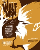The Wolf Man - Homage movie poster (xs thumbnail)