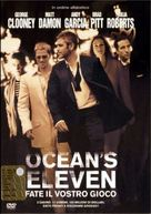Ocean's Eleven - Italian DVD movie cover (xs thumbnail)
