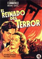 Reign of Terror - Spanish Movie Poster (xs thumbnail)