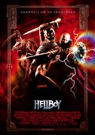 Hellboy - German Movie Poster (xs thumbnail)
