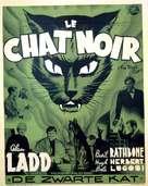 The Black Cat - Belgian Movie Poster (xs thumbnail)