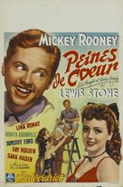 Love Laughs at Andy Hardy - Belgian Movie Poster (xs thumbnail)