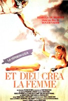 And God Created Woman - French VHS movie cover (xs thumbnail)