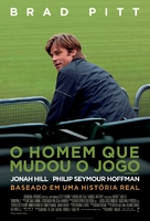 Moneyball - Brazilian Movie Poster (xs thumbnail)
