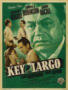 Key Largo - French Movie Poster (xs thumbnail)