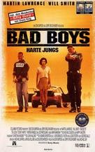 Bad Boys - German VHS movie cover (xs thumbnail)