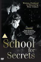 School for Secrets - British DVD cover (xs thumbnail)