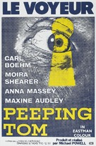 Peeping Tom - French Movie Poster (xs thumbnail)