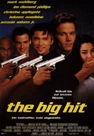 The Big Hit - German Movie Poster (xs thumbnail)