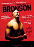 Bronson - Danish Movie Poster (xs thumbnail)