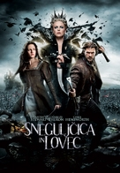 Snow White and the Huntsman - Slovenian Movie Poster (xs thumbnail)