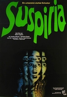 Suspiria - German Movie Poster (xs thumbnail)