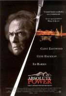 Absolute Power - Swedish Movie Poster (xs thumbnail)