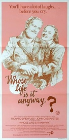 Whose Life Is It Anyway? - Australian Movie Poster (xs thumbnail)