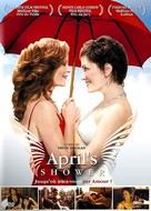 April's Shower - French DVD cover (xs thumbnail)
