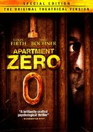 Apartment Zero - DVD cover (xs thumbnail)