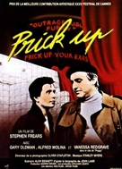 Prick Up Your Ears - French Movie Poster (xs thumbnail)
