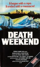 Death Weekend - British VHS cover (xs thumbnail)
